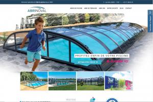 Abri de piscine Abrinoval