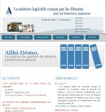 Alibi, Solution de gestion de librairie et papeterie