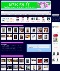 Articite.fr – galeries d'art en ligne