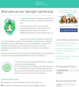 Danger Santé – Effet Santé – Risque Santé – Cause consequence Santé – Sante FR