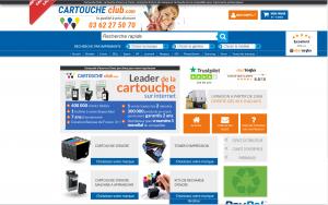 Cartouche d'encre discount chez Cartoucheclub.com
