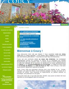 Commune de Coucy : au cœur de la campagne des Ardennes.