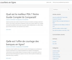 Guide courtiers en ligne français