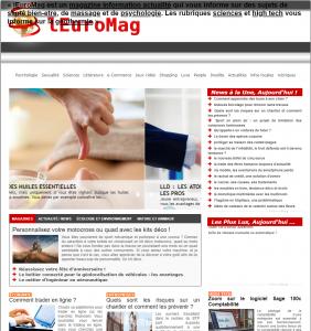Magazine information lEuroMag