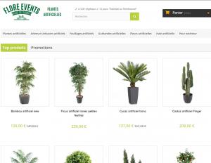 Plantes et fleurs artificielles