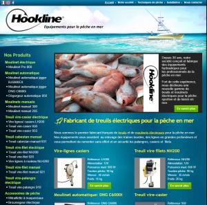 Treuil électrique pour la pêche