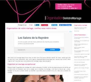 Wedding planner / organisateur ou organisatrice de mariage