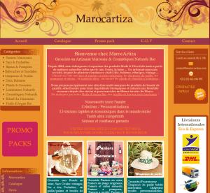 Marocartiza Artisanat & cosmétiques