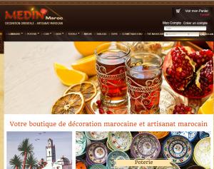 MEDINMAROC/Décoration orientale, artisanat marocain