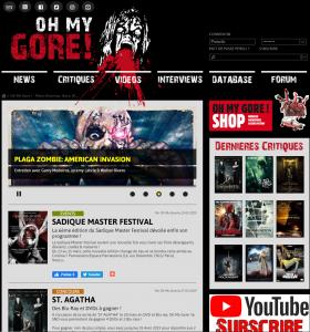 Oh My Gore ! – Toute l'actualité des films d'horreur