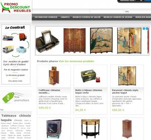 PromoDiscountMeubles: le meuble chinois
