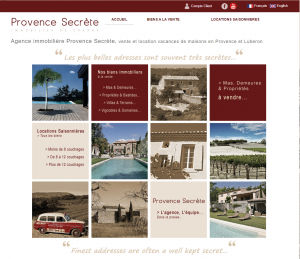 Agence immobiliere Luberon – Mas Luberon