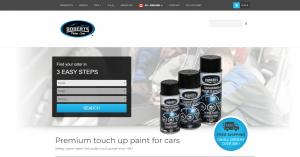 Roberts Paint Care – Retouche de peinture et accessoires de réparation pour autos