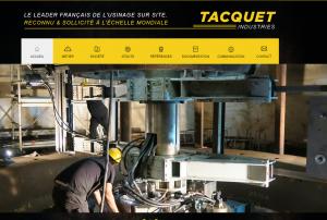 Tacquet Industries : Conception de machines spéciales