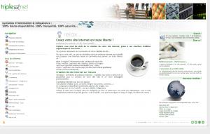 TripleXL : réalisation de sites, infogérance serveurs dédiés