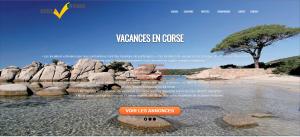 Vacances en Corse, locations estivales.