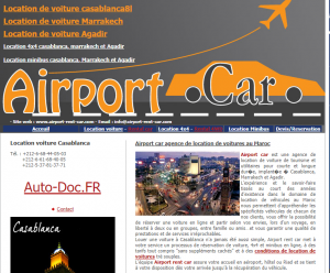 Airport car agence location voiture, 4×4