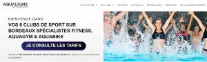 Aqualigne, centre aquatique & de fitness à Bordeaux