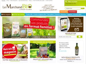 Boutique de produits bio et informations