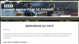 CKCF : Canoe Kayak club de France