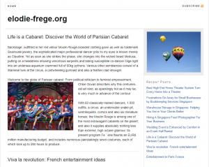 ELODIE FREGE || Le site d' Elodie Frégé : Photos Vidéos Mp3 …