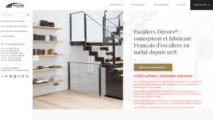 Escalier métal : Escaliers Décors