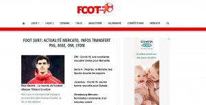 Site d'information de football