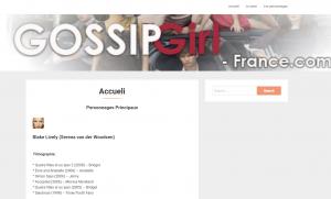 Gossip Girl France – Tout sur la série TV adaptée des livres de Cecily Von Ziegesar