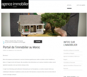 agence immobiliere maroc taroudant