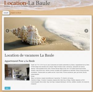Locations La Baule