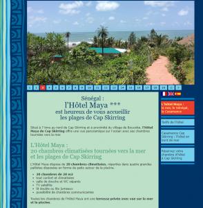 Hôtel Maya – Casamance – Sénégal