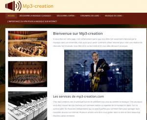 MP3-creation | catalogue MP3 de Thierry Cassagneau
