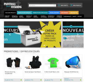 Achat paintball