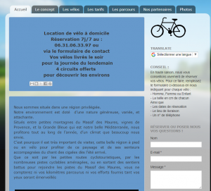 Avelonde – Location de vélo à domicile