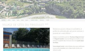Ardeche Balazuc: gites avec piscine